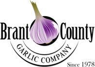 Brant County Garlic Logo